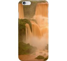 The Red Falls of Iguazu, Argentina/Brazil Border #1 iPhone Case/Skin