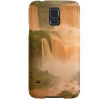 The Red Falls of Iguazu, Argentina/Brazil Border #1 Samsung Galaxy Case/Skin