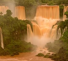 The Red Falls of Iguazu, Argentina/Brazil Border #1 by acaldwell