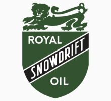 Vintage Royal Snowdrift Oil by JohnOdz