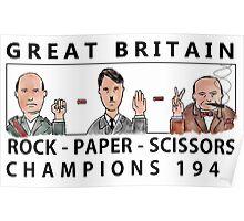 Rock Paper Scissors Champions Poster