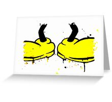 Mickey Mess - Feet Greeting Card