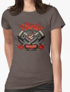 T-Birds' Speed Shop Womens Fitted T-Shirt