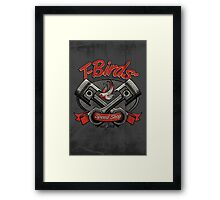 T-Birds' Speed Shop Framed Print