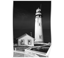 Pigeon Point Lighthouse, Point Arena, Central Coast of California Poster