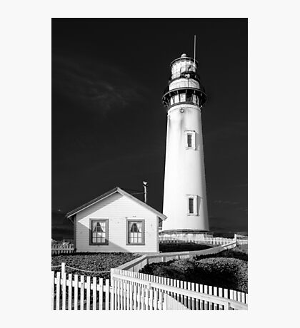 Pigeon Point Lighthouse, Point Arena, Central Coast of California Photographic Print