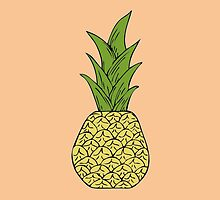 Pink Pineapple by luckylucy