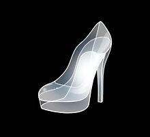 Glass Cinderella Heel  by Kteis