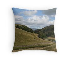 O'er Hill and Dale Throw Pillow