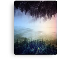 flipped forest Canvas Print