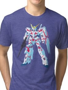 RX-0 Unicorn Gundam Tri-blend T-Shirt