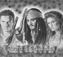 Pirates of the Caribbean by Nicole I Hamilton