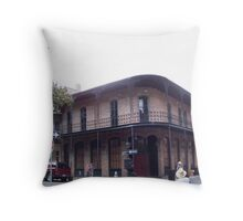Ironwork In The French Throw Pillow
