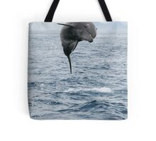 Jumping Dolphin II Tote Bag