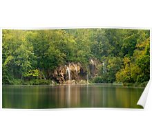 Veliki Slap Detail 1, Plitvice Lakes National Park, Croatia Poster
