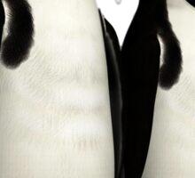 Ad,Lie Penguins Sticker
