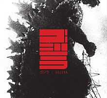 Godzilla (1954) by ZacCummings