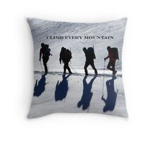 Hikers cover Throw Pillow