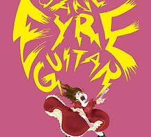 Jane Eyre Guitar by ladypuns