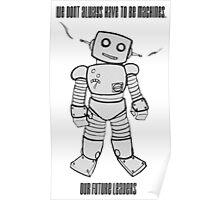 Robot Machines Poster