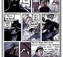 Aitzaz Hasan Hero Comic by Khaiam D.