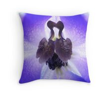 Kissing Ducks Throw Pillow
