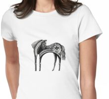 The dark horse Womens Fitted T-Shirt