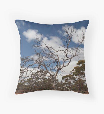 Outback Tree Throw Pillow
