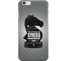 Shawshank Chess Comp iPhone Case/Skin