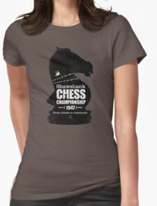 Shawshank Chess Comp Womens Fitted T-Shirt