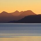 Cuillins Sunset 1 by beavo