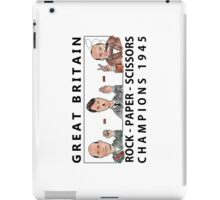 Rock Paper Scissors Champions iPad Case/Skin
