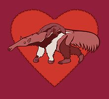 Love Giant Anteater by PepomintNarwhal