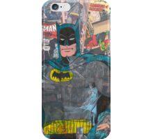 Vintage Comic Bat Man iPhone Case/Skin