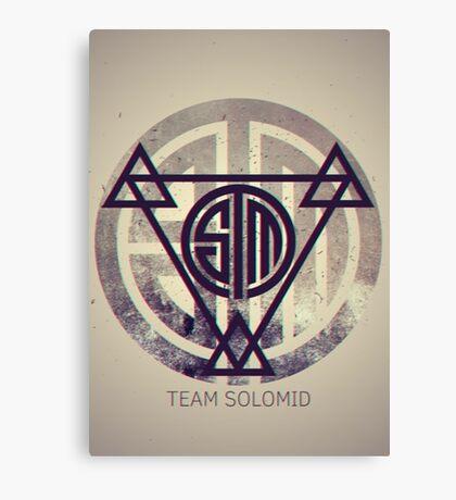 TSM Grunge Canvas Print