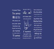Multilingual I Love You Unisex T-Shirt