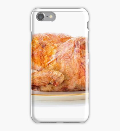Roasted Turkey Dinner iPhone Case/Skin