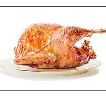 Roasted Turkey Dinner by Edward Fielding