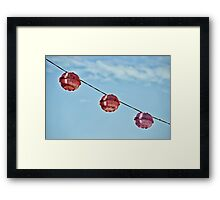 Festival Lighting Framed Print