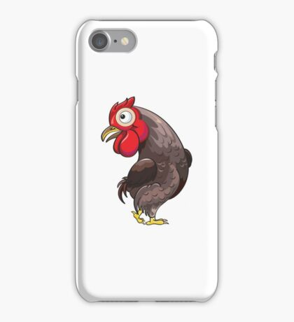 Rooster Cartoon Character iPhone Case/Skin