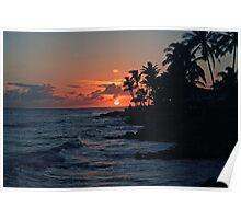 Ewa Beach Sunset Poster