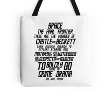Castle The Final Frontier- v1a Tote Bag