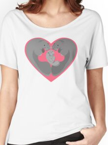 Love Manatees - Protect What You Love Women's Relaxed Fit T-Shirt