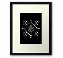 Geometric Illustration Framed Print