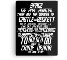 Castle The Final Frontier- v2a Metal Print