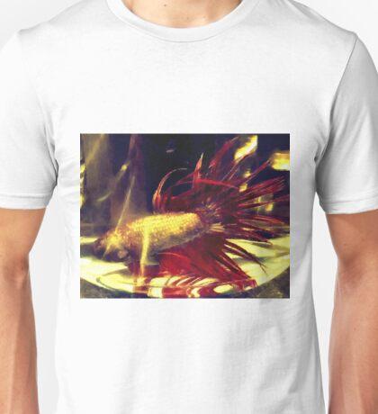 Flaring Betta Unisex T-Shirt