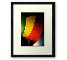 Contemporary Lighting Framed Print