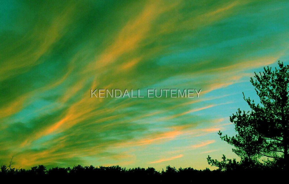 LIMONADE SKIES by KENDALL EUTEMEY