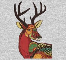The Deer One Piece - Long Sleeve