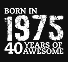 Born in 1975 - 40 Years of Awesome by callmeberty